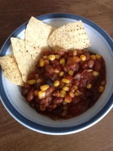 erins vegetarian chili