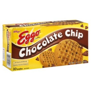 eggo chocolate chip