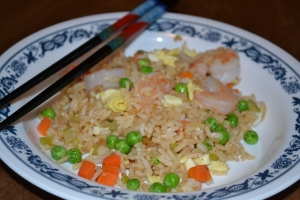 Last-Minute Shrimp Fried Rice