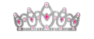 A close facsimile of the Actual Plastic Tiara worn by the Birthday Girl.