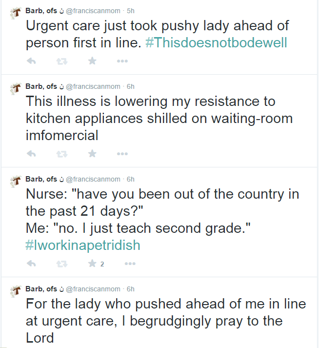 urgent care tweets