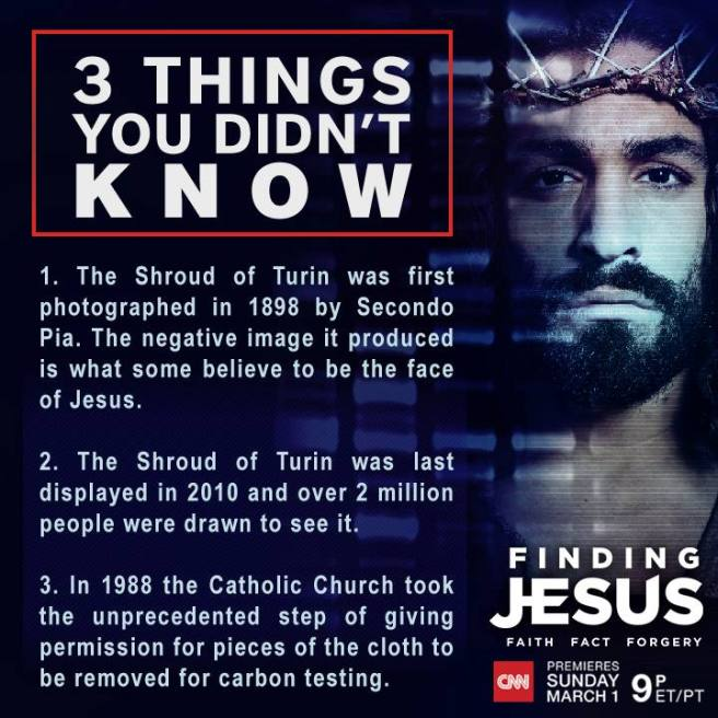 Finding Jesus shroud of turin info