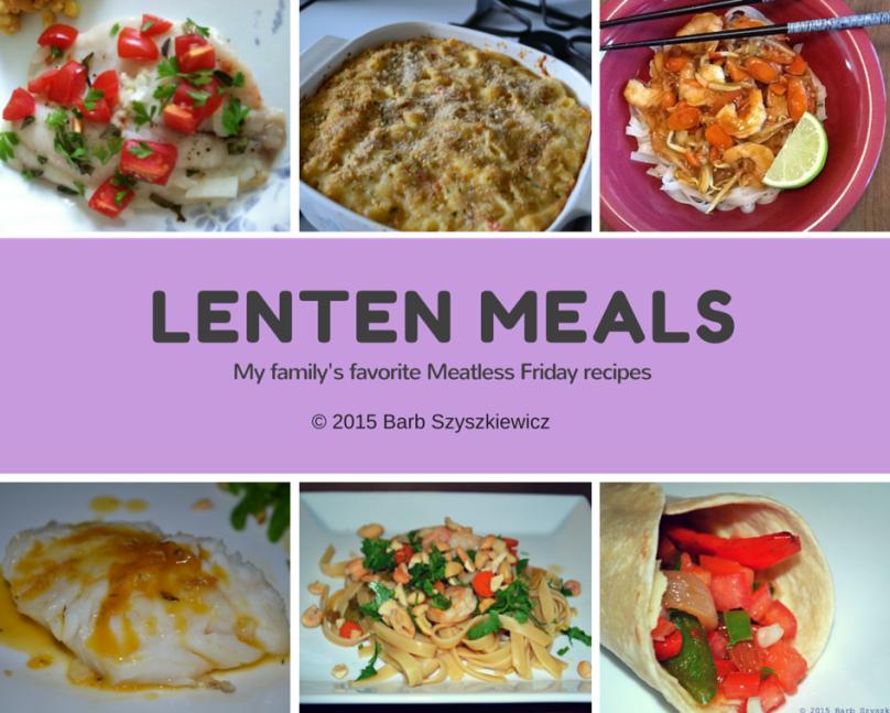 Lenten Meals 2015