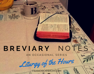 Breviary Notes
