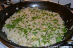 clam risotto baked