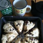 granma scones and tea