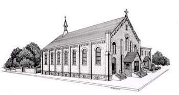 The very first church where I participated as a music minister: St. Bonaventure in Paterson, NJ.