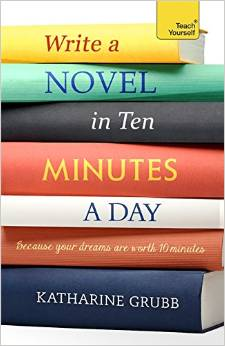 write a novel at 10 minutes a day