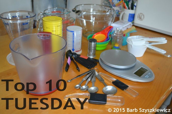 Top 10 TUESDAY measuring stuff