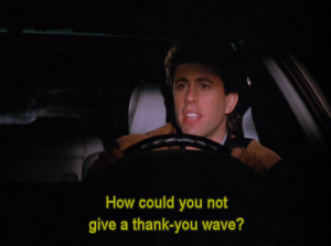 Via Seinfeld Daily on Tumblr.