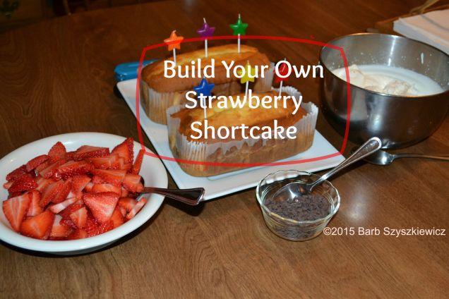 BYO Strawberry shortcake