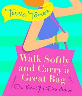 walk softly carry great bag
