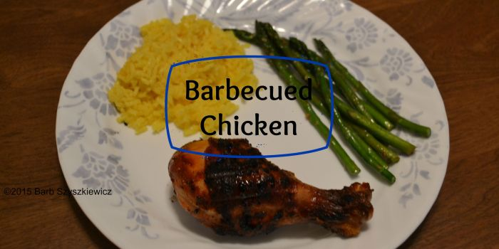 barbecued chicken c title