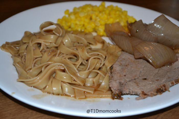 beef noodles with pot roast C