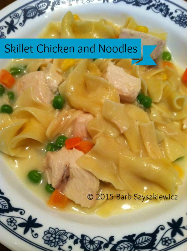skillet chicken noodles c t