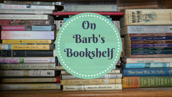 Barb's Book shelf blog title
