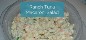 Ranch TunaMacaroni Salad FI