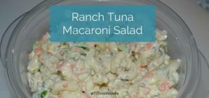 Ranch TunaMacaroni Salad FI