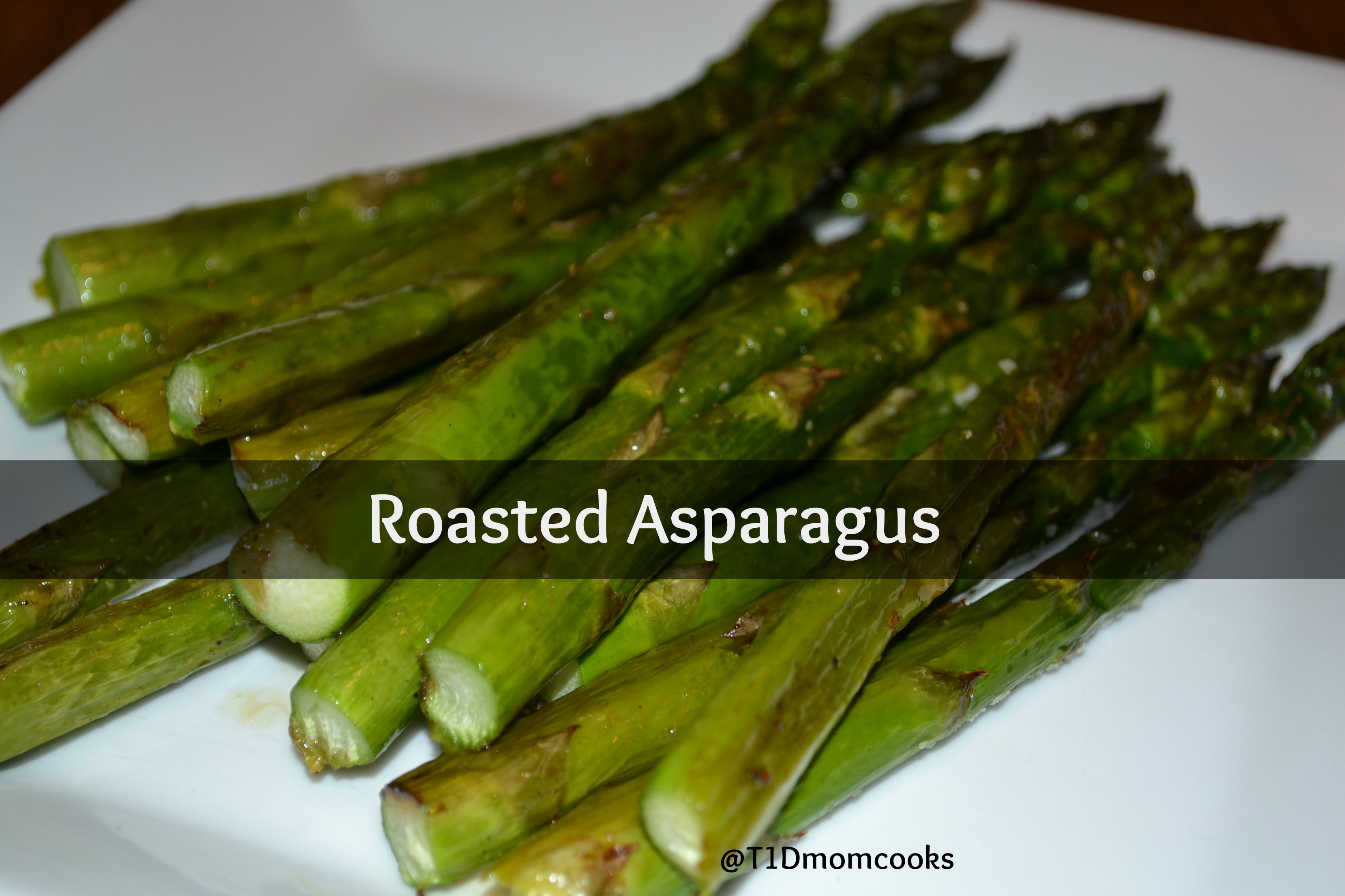 Roasted Asparagus . Cookie sheets are not just for cookies anymore ...