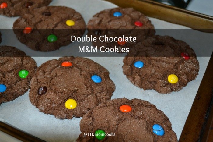 double choc mm cookies T C (8)