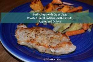 pork chop cider mustard roasted veg (6)T C