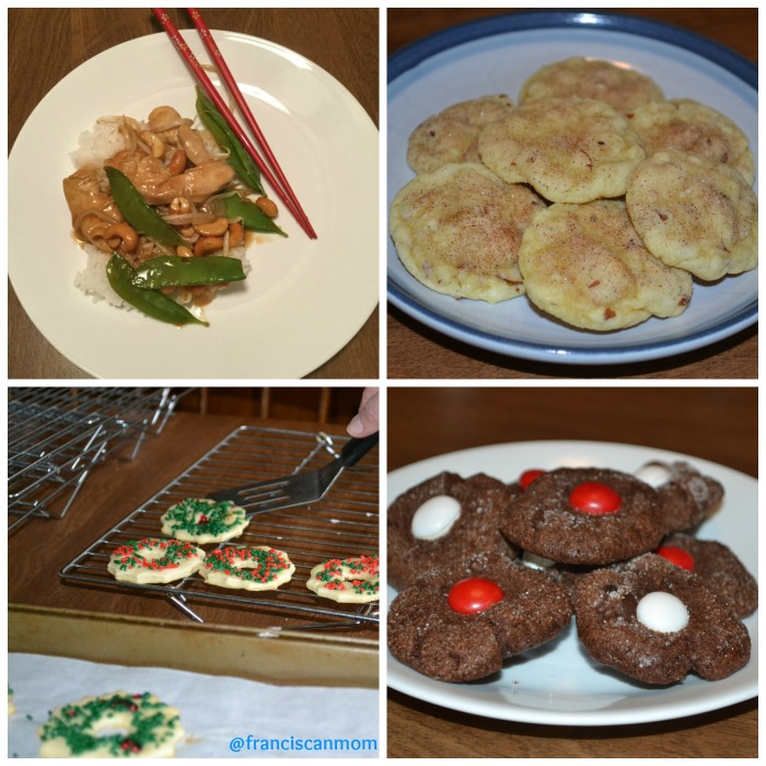 Monday Recap recipes Jan 2016