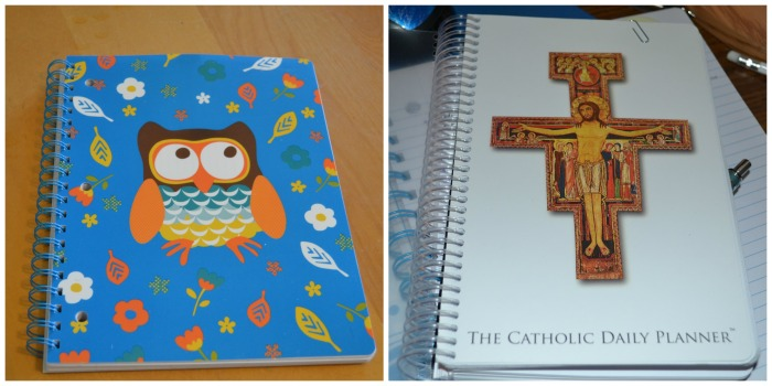 Notebook and planner for SUYP