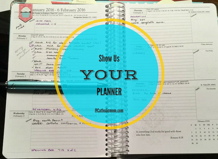 Show Us Your Planner logo