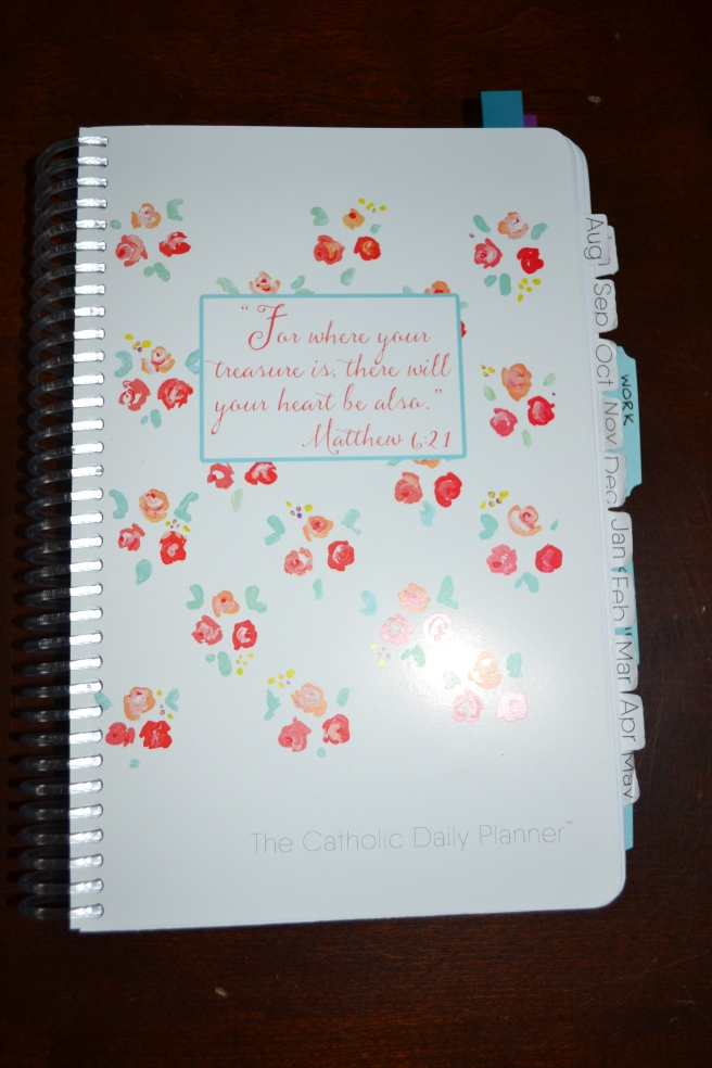 My Michele Quigley Catholic planner. @franciscanmom