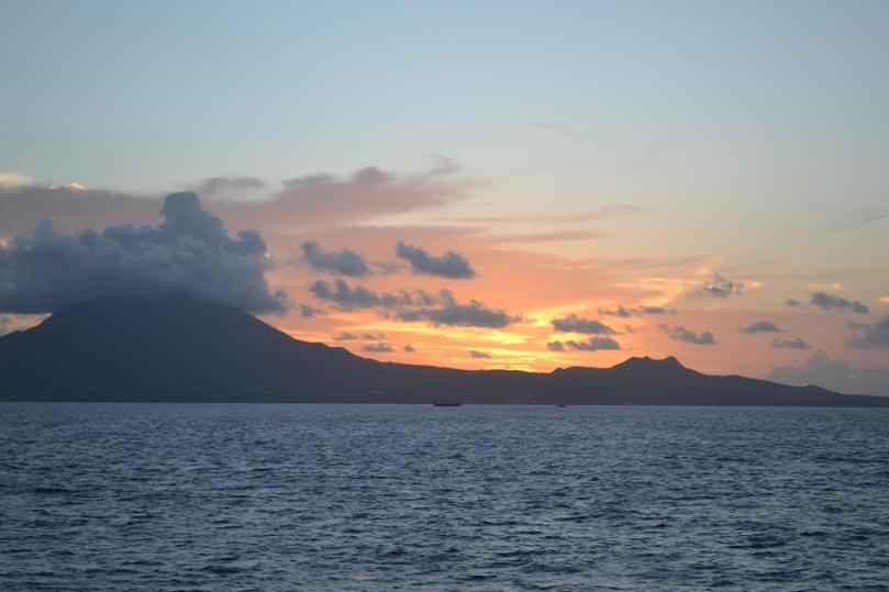 Caribbean Sunrise, August 2016.