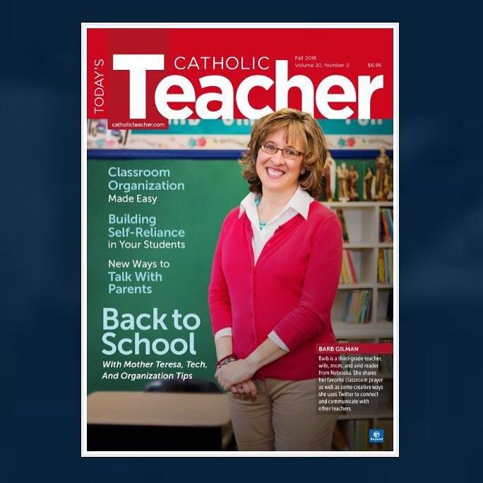 Today's Catholic Teacher fall 2016 cover