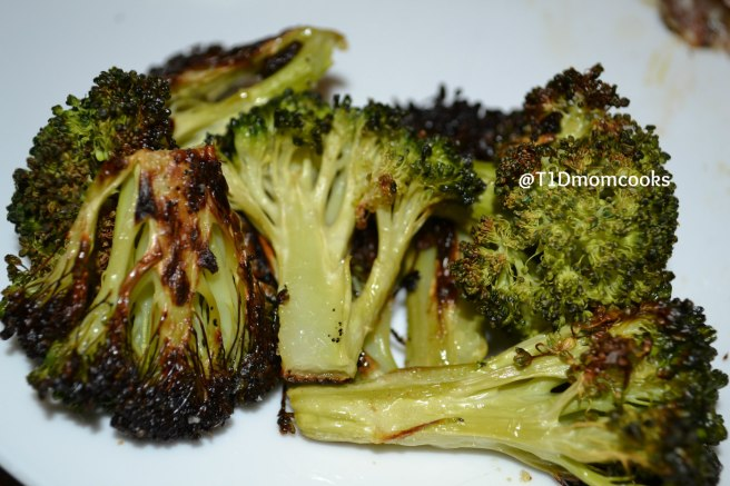 Roasted Broccoli  by Barb Szyszkiewicz @franciscanmom