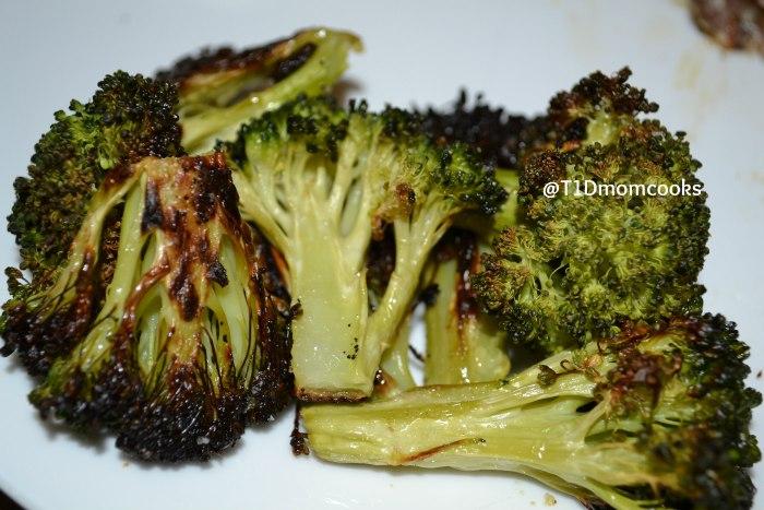 Roasted Broccoli  by Barb Szyszkiewicz @franciscanmom