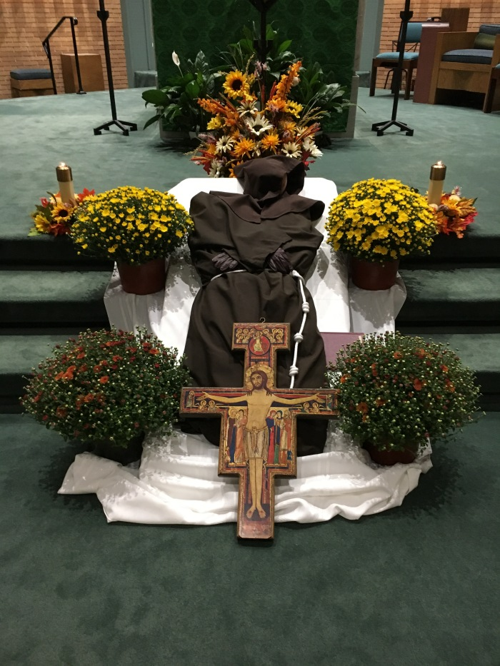 Transitus of St. Francis @franciscanmom