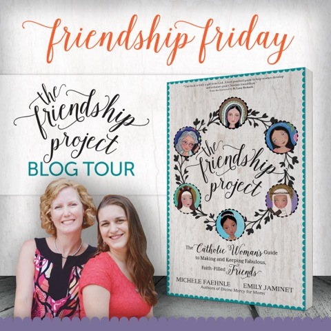 Friendship Friday blog tour for