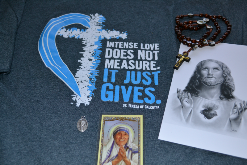 Catholic T-shirt Club Mother Teresa