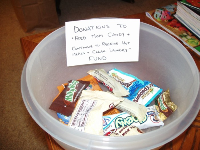 Feed Mom Candy fund