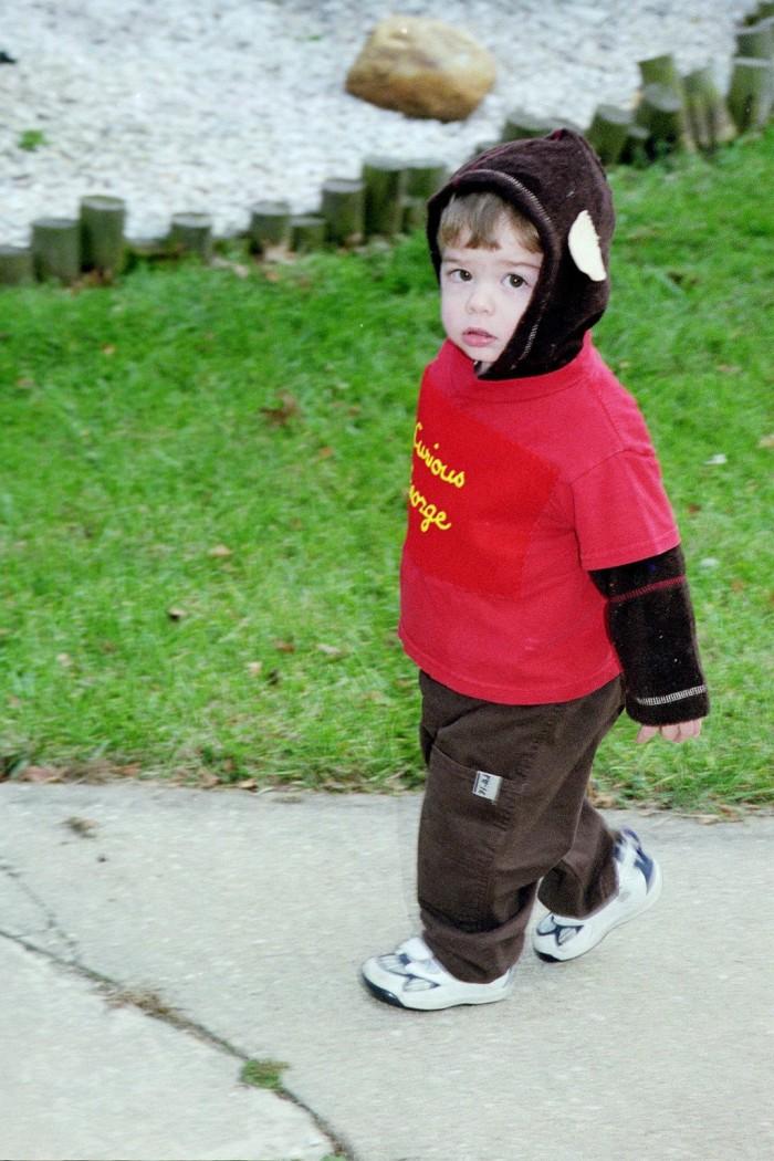Luke Halloween 2003
