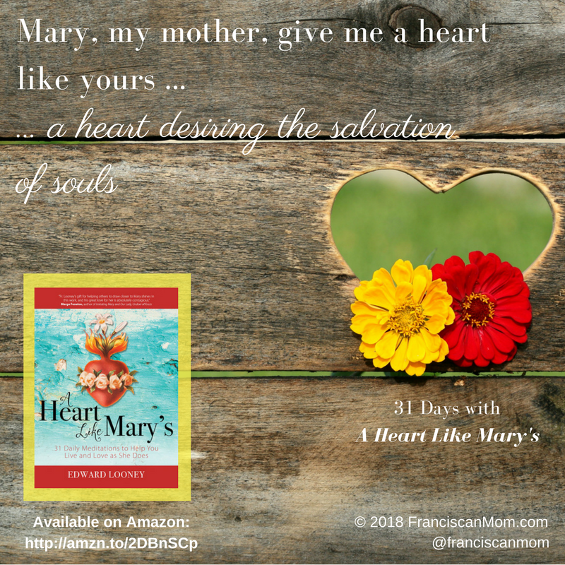 """31 Days with A Heart Like Mary's"" by Barb Szyszkiewicz (FranciscanMom.com)"