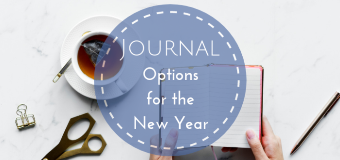 Journal Options for the New Year